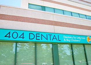 Exterior of 404 Dental Office Newmarket